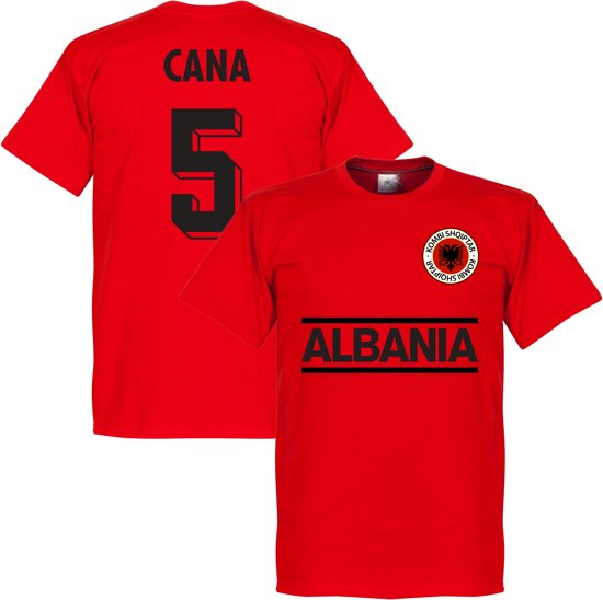Albanië Cana Team T-Shirt  - L