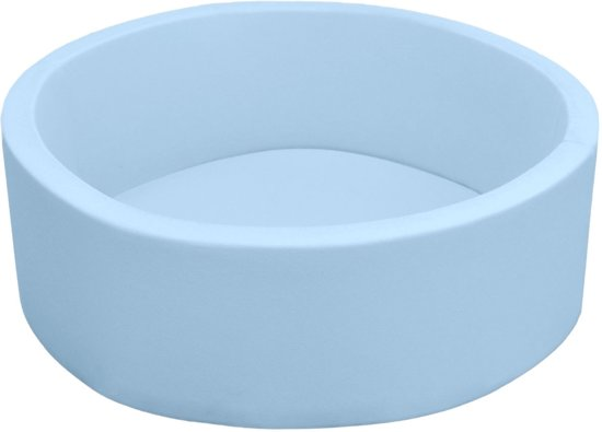 LittleTom Baby Ball Bath 90x30 zachte bal bad kinderen ballen zwembad zwembad 90x30 ronde blauw