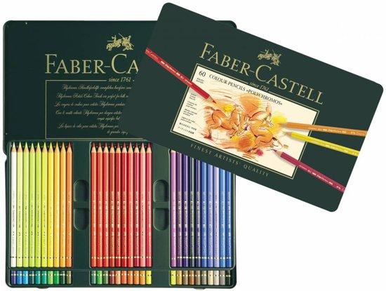 Faber Castell - Kleurpotlood - Polychromos - 60 stuks