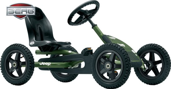 BERG JEEP® Junior Pedal Go-kart