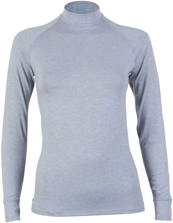 dd12e72a37f bol.com | RJ Bodywear Dames Shirt Lange Mouw Thermo grijs mt M