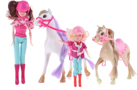 Toi-toys Speelset Kailey's Paard En Pony 4-delig