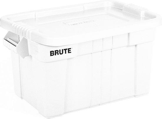 Rubbermaid Brute Opbergbox - 75,5 l - Wit