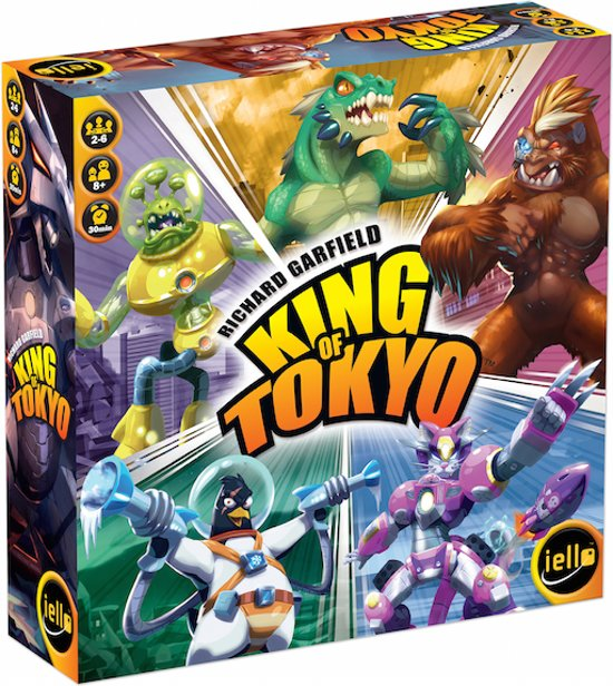 King of Tokyo 2016 editie - Engelstalig Bordspel