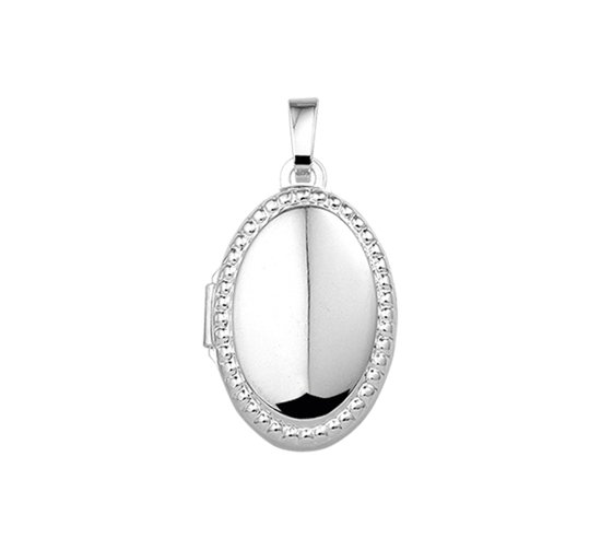 The Jewelry Collection Medaillion - Zilver