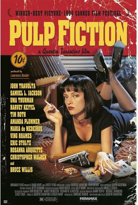 Pulp Fiction-Tarantino-film-poster-61x91.5cm.