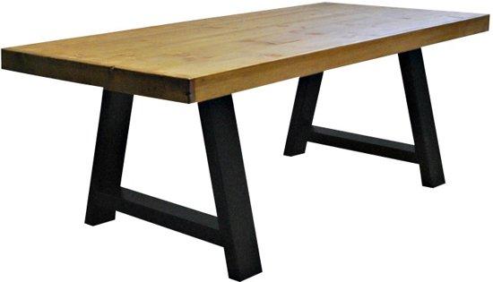 6 Persoons Tafel : Bol.com tafel lago 4 6 persoons eettafel bruin zwart