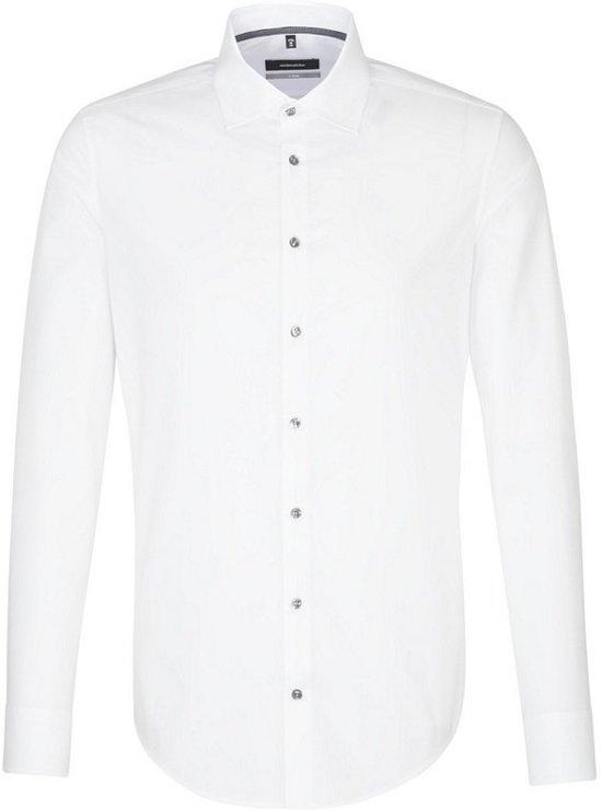 Seidensticker overhemd X-slim fit wit, maat 39