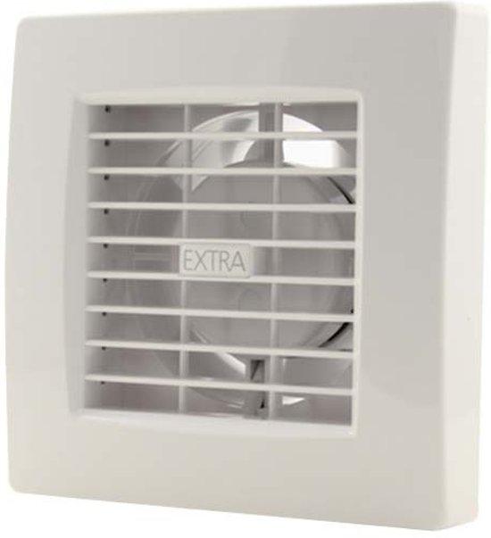 bol.com | Badkamer ventilator 120 mm WIT met TIMER en VOCHTSENSOR ...