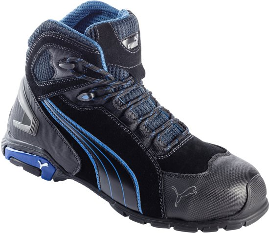 Werkschoenen S3.Bol Com Puma Werkschoenen Rio Hoog S3 Zwart 42