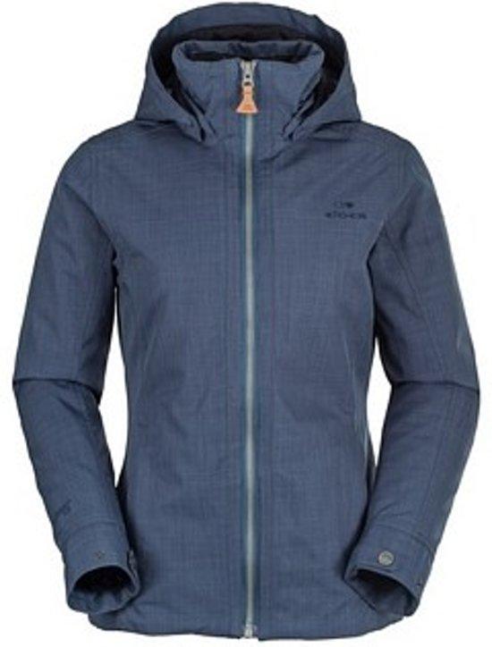 Eider Jacket Veyier Dames Winterjas Maat Blauw 42 xnnBR0qPwT