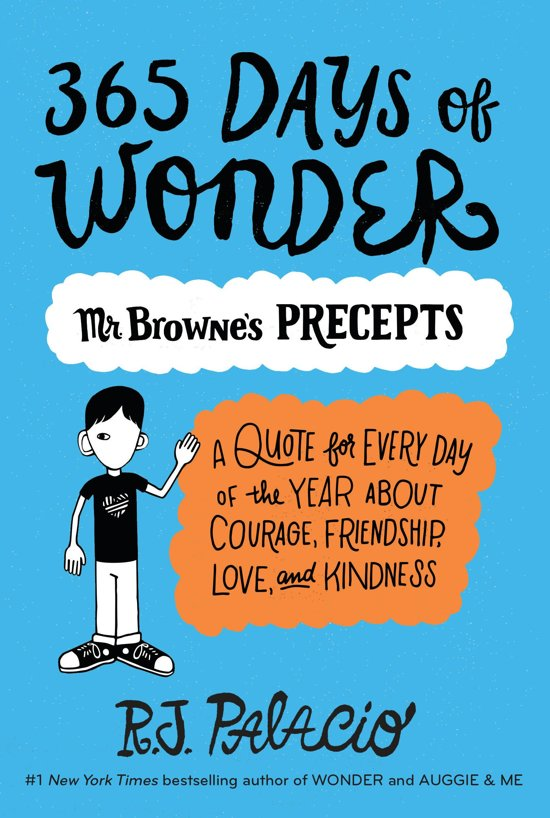 Boek cover 365 Days of Wonder van R J Palacio (Onbekend)