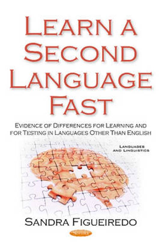 Learn a Second Language First