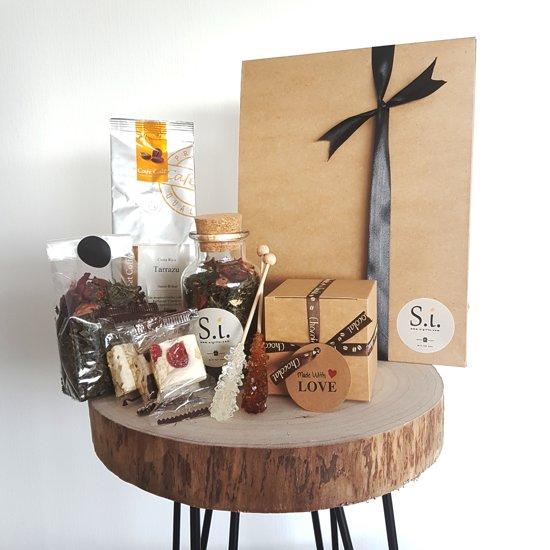 Si Thee Koffie En Chocolade Geschenkset 8 Delig Set Cadeau Thee Refill