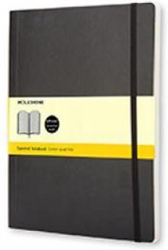 Moleskine Classic Notebook - XL - Squared - Soft - Black