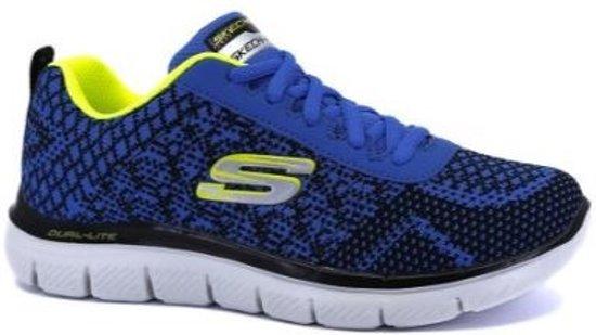 Skechers Flex Advantage 2.0 Golden Point RYBK blauw sneakers kids