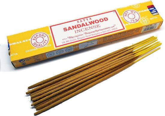 Satya Sai Baba Wierook.Sandalwood Wierook Satya Incense 15 Grams
