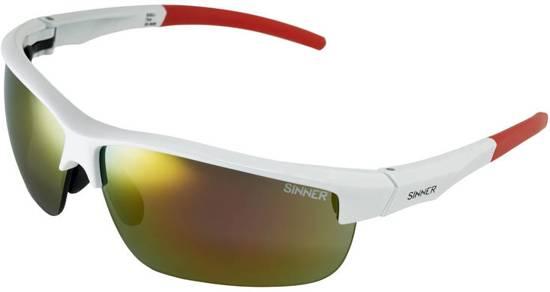 Sinner Antigua + 2 extra lenzensets & Case - Sportbril - Wit