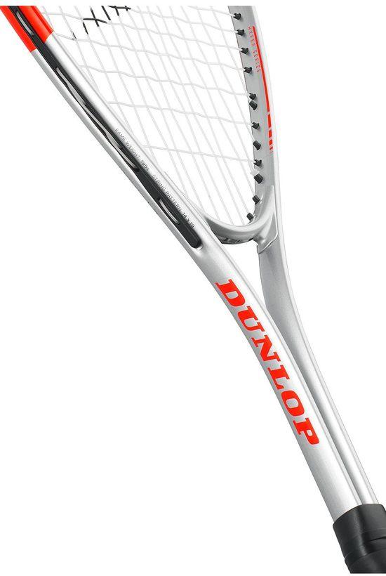 Dunlop Squashracket HYPER TI HQ - WIT/ZWART/ORANJE - 773272
