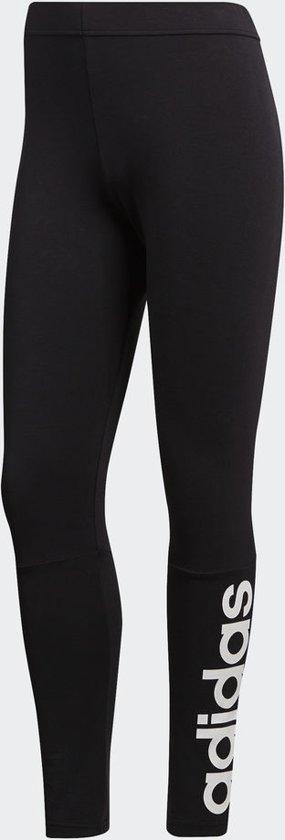 adidas Essentials Linear Tight Sportlegging Dames - Black/White