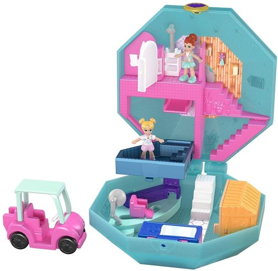 Polly Pocket Big Pocket World Verwendagje - Speelfigurenset