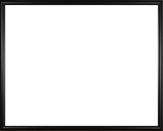 Homedecoration Biggy – Fotolijst – Fotomaat – 62 – 77 cm – Kunststof – Zwart mat