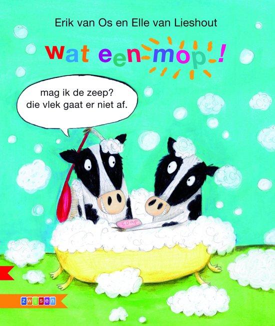 Boek cover Wat een mop! van Erik van Os (Hardcover)