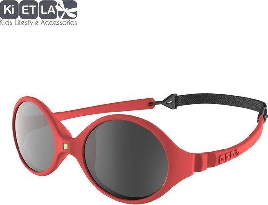 41f09dde3f4792 Ki Et La - UV-zonnebril voor baby s - Diabola - Rood