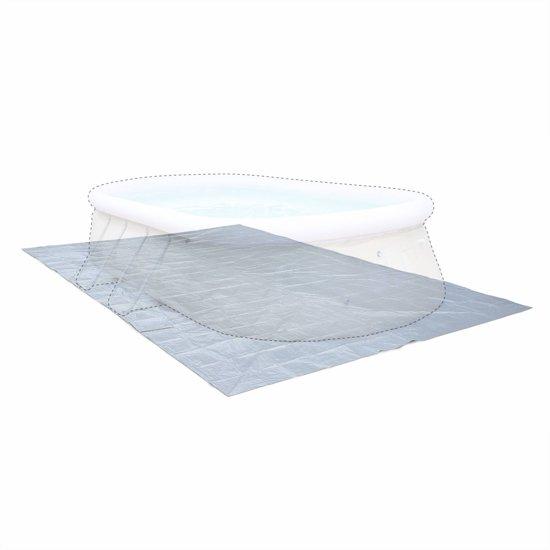 Vloermat 583 x 390 cm voor zwembad 540 300