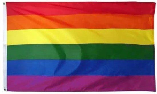 Regenboog vlag