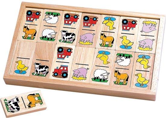 Afbeelding van het spel Santoys Domino Boerderijfiguren