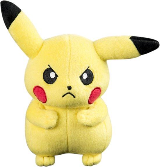 b869d66580400e bol.com | Pokemon Pikachu Knuffel - Make me smile! - Tomy, Tomy ...