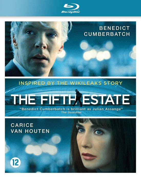 DVD cover van The Fifth Estate (Blu-ray)