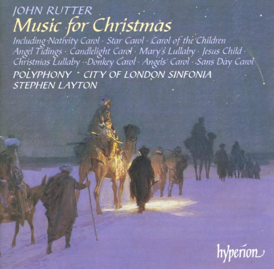 Rutter: Music for Christmas / Layton, Polyphony, City of London Sinfonia