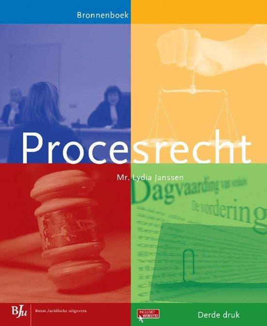 Bronnenboeken MBO Procesrecht