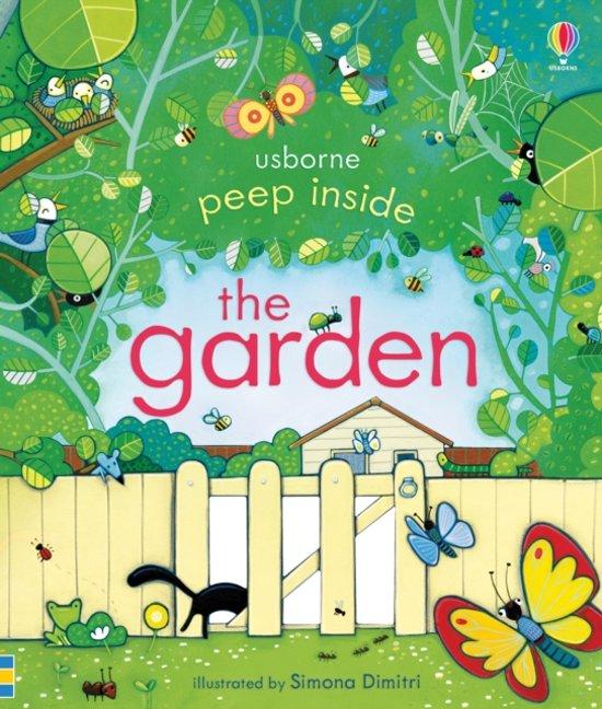 Boek cover Peep Inside the Garden van Anna Milbourne (Paperback)