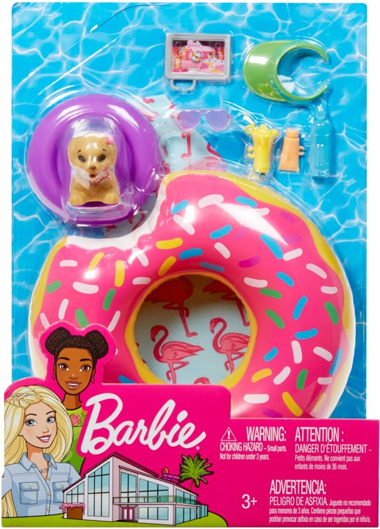 Barbie Drijvende Donut - Barbie Meubels & Accessoires