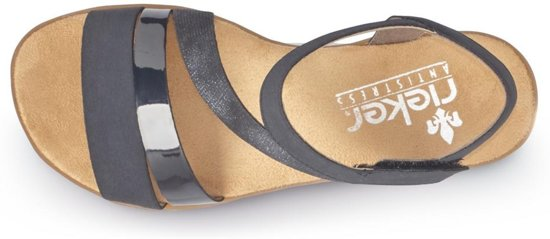 Rieker sandalen met riem Zwart-38