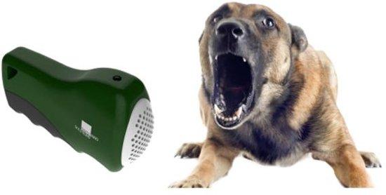 Draagbare ultrasone hondenverdrijver