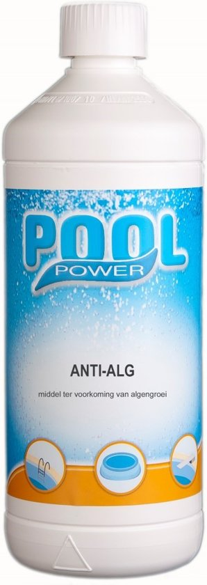 Extreem bol.com | Pool Power Anti Alg 1Ltr, Pool Power | Speelgoed IC47