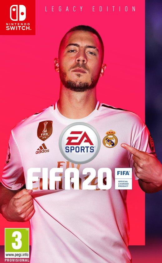 Cover van de game FIFA 20 Legacy Edition Nintendo - Switch