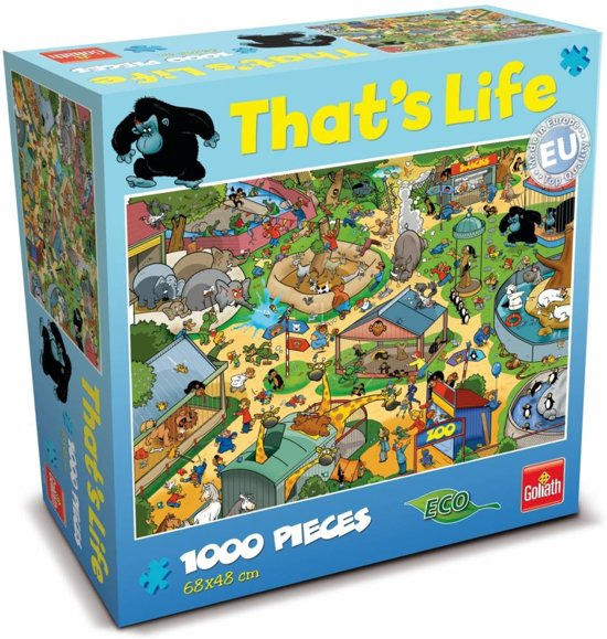 That's Life - Dierentuin - Puzzel - Goliath