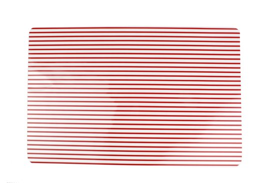 Yong Stripes Placemat - 45 x 30 cm - Rood