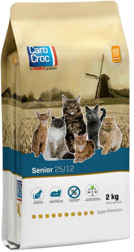 Carocroc Senior - Lam/Rijst - Kattenvoer - 2 kg