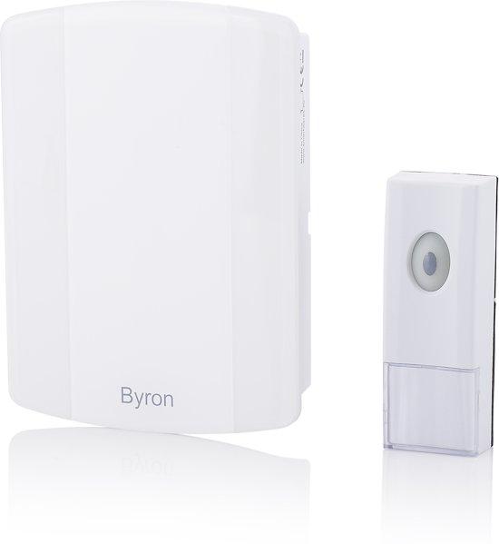 Bolcom Byron B002e Draadloze Deurbel Set 100m Mp3 Melodie