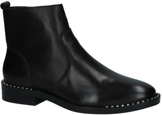 Bullboxer Zwarte Geklede Boots met Studs