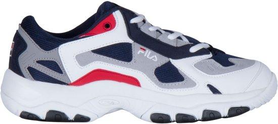 Fila FW Sneakers - Maat 44 - Mannen - blauw/wit/rood/grijs