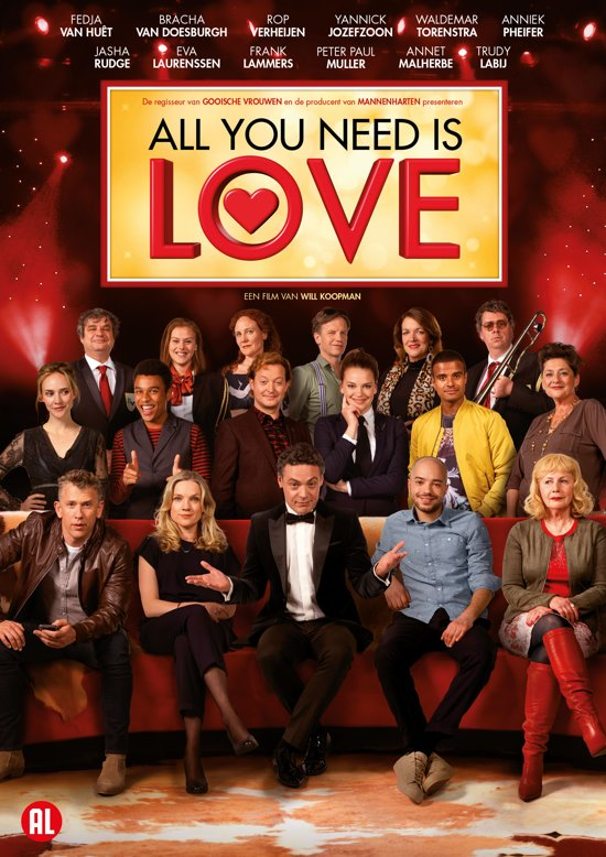 DVD cover van All You Need Is Love
