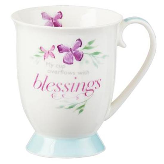 Mug My Cup Overflows W/Blessin