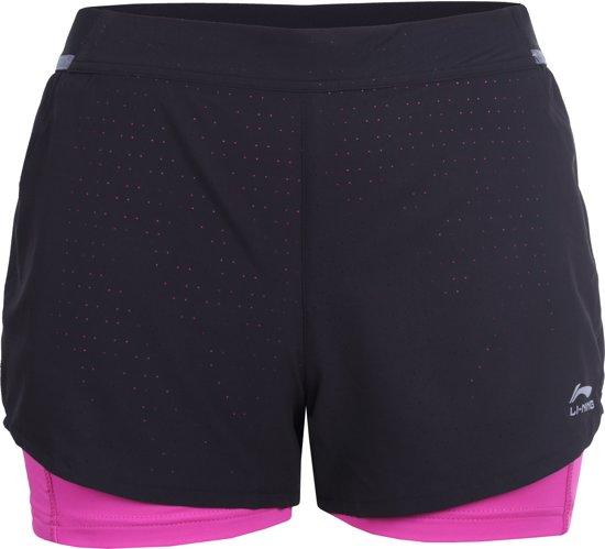Li-Ning Lolly Sportbroek Dames - Black M